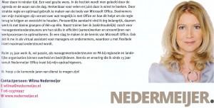 Wilma Nedermeijer